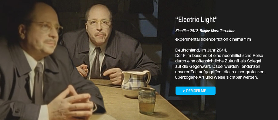 "Markus Vogelbacher in dem Kinofilm ""Electric Light"""